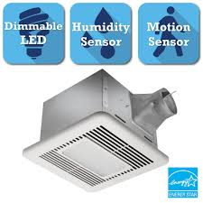 Bathroom Fan Led Light Delta Breez Signature Series 80 Cfm Ceiling Exhaust Bath Fan With