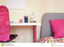 Kids Study Desk by Kids Room With Study Desk And Bed Stock Photo Image 44717584