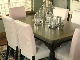 Slipcovered Parsons Dining Chairs Lets Make Slipcovered Dining Chairs Luxurious Furniture Ideas