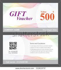 voucher template rose background stock vector 332392307 shutterstock
