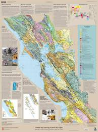 San Francisco Area Map by Geologic Downloads