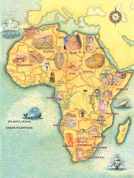 Morocco Africa Map by Trust For African Rock Art Prehistoric African Paintings And