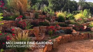 native new mexico plants xeriscaping in santa fe new mexico mccumber fine gardens youtube