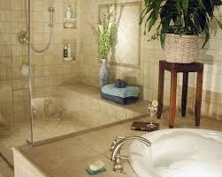 interior artistic image of beige bathroom decoration using