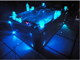 Outdoor Swimming Pool Tub With Led Light In Bathtubs