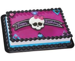 Baskin Robbins Halloween Cakes by Monster High Cake Decorating Kit Meknun Com