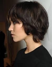 coupe de cheveux effil coupe de cheveux effilé dégradé court