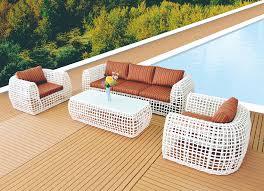 Rattan Wicker Patio Furniture Tf 6067 4 Piece Stylish Outdoor Pe Rattan Wicker Patio Sofa