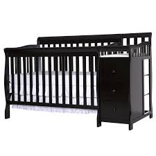 baby crib with changing table attached baby crib design inspiration
