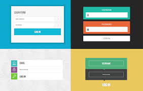 free web form templates download 10 trendy login forms in flat design template by w3layouts