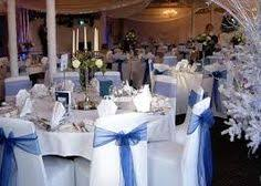 Blue Chair Covers White Chair Covers With No Sashes White Tablecloths With Blue