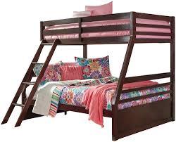 Bunk Beds Boston Signature Design By Halanton Solid Pine Bunk Bed