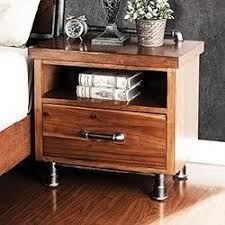 legends furniture steampunk collection one drawer night stand with