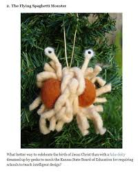 fsm ornaments church of the flying spaghetti