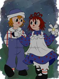 at raggedy ann and andy by xbooxbooxbear on deviantart