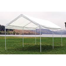 Carport Canopy Heavy Duty Mac Sports 10x20 U0027 Canopy Carport 151420 Screens U0026 Canopies At