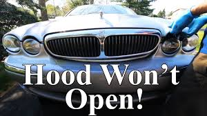 mazad car what if your car u0027s hood won u0027t open youtube