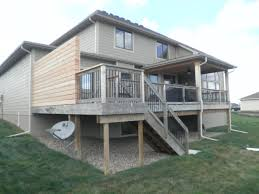 privacy wall fence des moines deck builder deck and drive