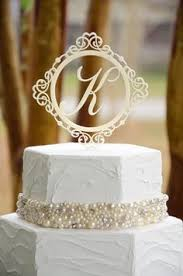 monogram wedding cake topper innovative ideas monogram wedding cake topper chic inspiration