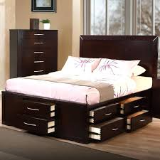 king bed frames with storage u2013 bare look
