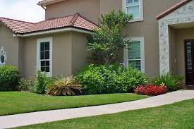 collection in simple front yard landscaping ideas simple