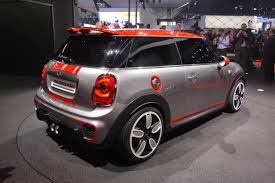 a sportier f56 the john cooper works concept north american