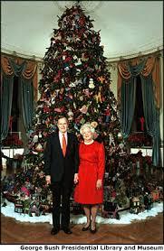 White House Christmas Ornament - white house christmas trees