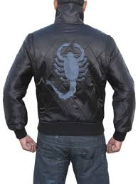drive jacket replica ryan gosling scorpion black drive jacket on sale with free gifts