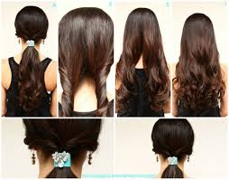 easy hairstyles for long straight hair to do yourself 4 easy lazy