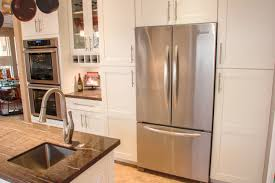 Building Frameless Kitchen Cabinets by Eclipse By Shiloh Cabinetry Wyatt Door Polar Finish Shaker
