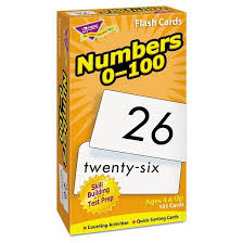 Flashcards Numbers 1 100 Trend Skill Drill Flash Cards 3 X 6 Numbers 0 100 Target