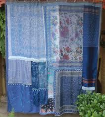 Gypsy Ruffled Shower Curtain Curtain Halloween Shower Curtain