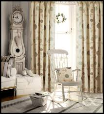 Duck Egg Blue Floral Curtains Just Contempo Floral Pencil Pleat Lined Curtains Brown 66x54