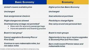Luggage United Airlines United U0027s Basic Economy Fare Aims To Compete With Discount Airlines