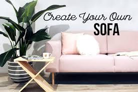 create your own sofa u2013 created homewares gifts u0026 furniture