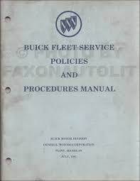 1985 buick repair shop manual cd rom