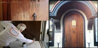 Refinish Exterior Door Front Door Restoration Laurelhurst In Seattle Wa Shearer Painting