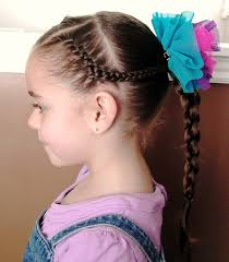 Haircuts For Little Girls Little Hairstyles For Long Hair Braids For Little Girls With