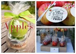 Favor Ideas by Spokane Area Wedding Favor Ideas Apple Brides