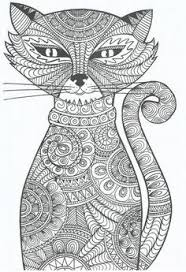 hand drawn zentangle mouse coloring book