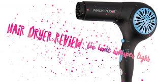 bio ionic whisper light hair dryer bio ionic whisper light pro hair dryer review beachywave