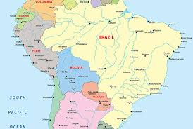 map of cities in south america brazil map blank political brazil map with cities