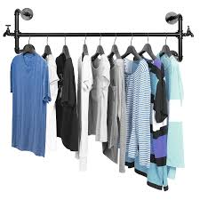 zjchao wardrobe pull out clothes hanger rail organizer rack metal