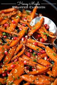 honey maple roasted carrots recipe roasted carrots carrots