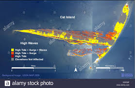 Map Of Gulf Of Mexico by Gulf Gulf Of Mexico Deep Water Horizon Disaster Illustration Stock
