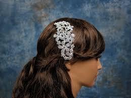 rhinestone hair bandeau style ivory birdcage veil rhinestone hair comb bbvr001