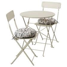 sedia da giardino ikea saltholmen tavolo 2 sedie pieghevoli giardino saltholmen beige