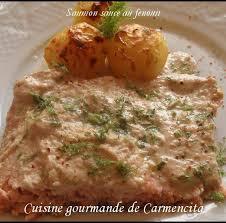 cuisiner du fenouil recette saumon grillé à la crème de fenouil 750g