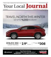lexus rx 350 kijiji your local journal november 17th 2016 by your local journal issuu