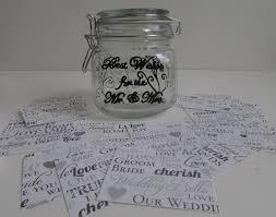 Wedding Wishes Jar 100 Wedding Wishes Guest Book Mr U0026 Mrs Wedding Wishes